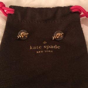 Kate Spade Mrs. earrings